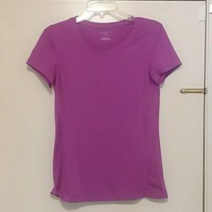 Tek gear drytek size small purple workout t-shirt